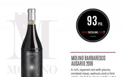 James Suckling – Barbaresco Ausario 2016