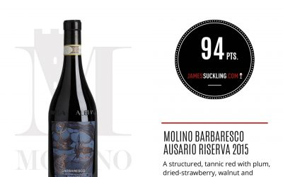 James Suckling – Barbaresco Ausario Riserva 2015