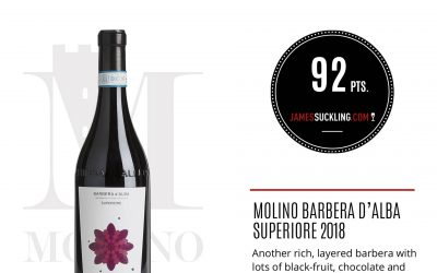 James Suckling – Barbera d'Alba Superiore 2018